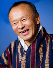 Bhutanese Prime Minister Jigmi Y. Thinley - a politician who believes in GNH! Source: UN