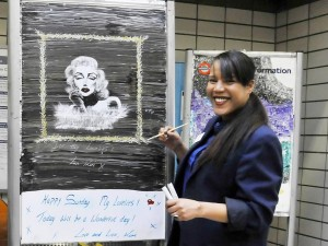 'Underground artist' Kim Kalan