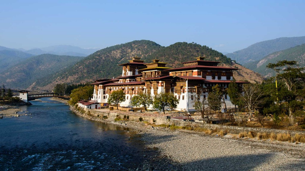 Bhutan. Photo via Let's Travel Somewhere.
