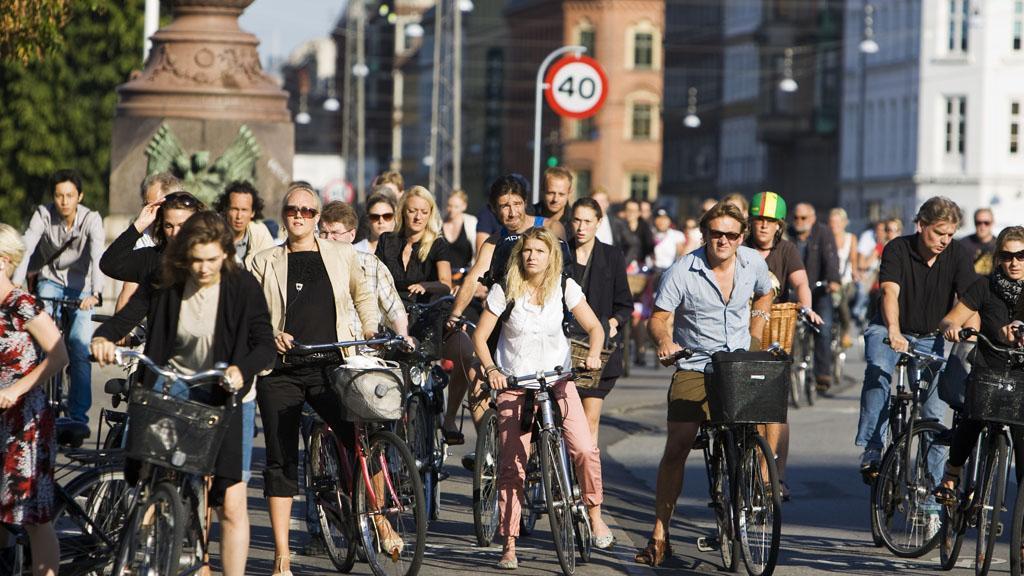 Copenhagen is full of bikes. Photo by Kasper Thyge/Visit Copenhagen